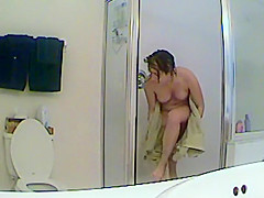 Peeping on sister in law under a shower