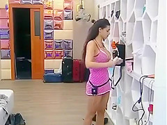 disobedient tits in the big brother show