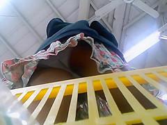 Upskirt done in closeup