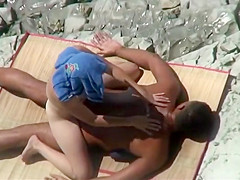 Nice butt of a beach girl