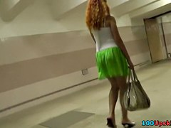 Look up redheads hawt mini petticoat