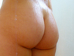big ass at the shower
