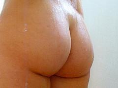 big ass at the shower