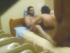 hidden cam   cheating wife threesome