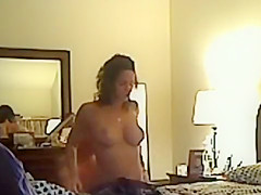 Dude Fucking Slutty Hot Cheating Wife on Hidden Cam