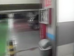 Girlfriend Blowjob and Facial in Public Parking