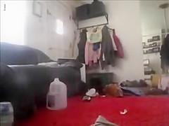 Spy Cam Caught Sister Masturbating