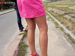 Valuable brunette hair upskirt episode episode