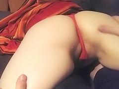 Horny girl-next-door allows me to finger her