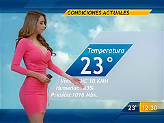 Sexiest weather woman in the history