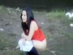 Outdoor voyeur pissing scenes