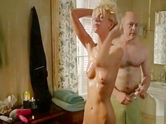 Riki Lindhomme naked in Hell Baby clip