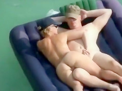 Swinger couples have unforgettable time at the seaside