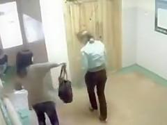 Russian amateur girls pee in public and soak the floor