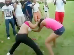 Two black women got into a crazy fight