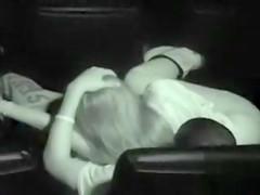 British lovers playing around in the dark