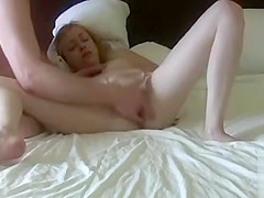 Rough masturbation is all she ever wanted