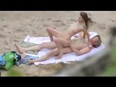 Naked Beach - Sexy 69er, Reverse Cowboy & Doggy