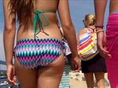 Candid Beach Bikini Booty A-Hole West Michigan A-Hole Tall
