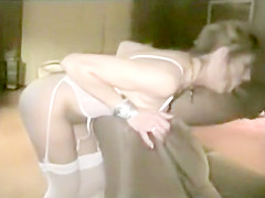 Kinky woman fucked by black dong that was massive