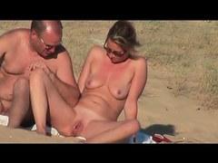 Pair on the beach