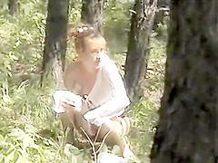 Outdoor Spy Monica Voyeur 06
