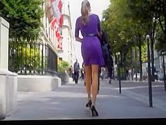 Pretty woman in light dress