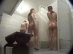 Hidden Shower, Voyeur, Amateur Clip Uncut