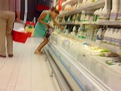 Girl Choosing Milk