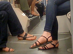 Double Candid Feet