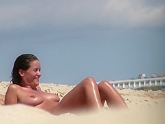 Shaved Hot Pussy Beach Milfs Voyeur Spy Hidden Cam HD Video