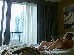 Voyeur hotel window public masturbation by MarieRocks