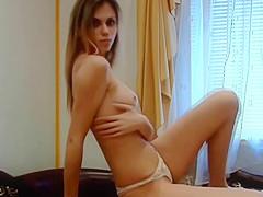 A Favorite Nubile Teen Striptease -- Slower, Improved Ending