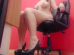 Fetish Mistress High Heel and Feet Tease
