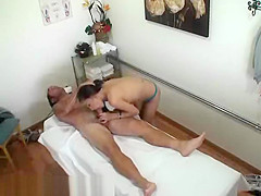 A Korean Girl Blowing A Big Cock