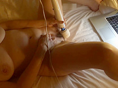 Sweet Wife Cums On Web Chat Apr 5, 2014 C - Hotel Bed