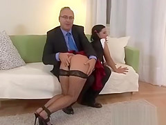 2 dirty old englishmen film babe in schoolgirl outfit