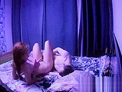 Redhead seduced a young guy,they were in position 69, and then he fucked 1