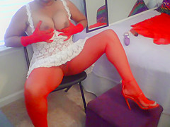 Ebony Kalika BIG Clit Pretty Pussy REAL AMATEUR Video #4-Voyeur Sensual Hot