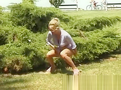 young teens pissing in public