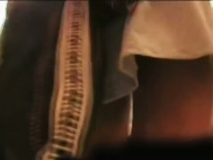 Sexy girls in white thongs caught on voyeur hidden cam
