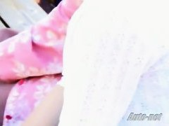 Asian down blouse video catches many cuties on the street