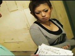 Amazing Asian downblouse spy cam video