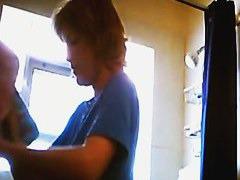 Alluring showers spy cam video