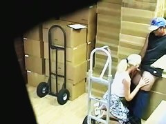 Security cam video of sex at work