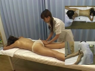 Asian spy cam lesbian massage videos
