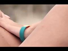 French nudist beach Cap d'Agde lesbos old + juvenile vaginas