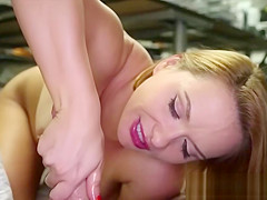 Stunning Milf Jerks Big Cock in Pov