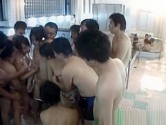 Asian doll gets spa fun in public jav part4