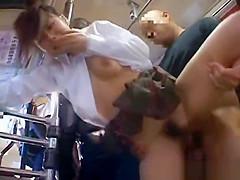 Asian babe has public sex jav part6